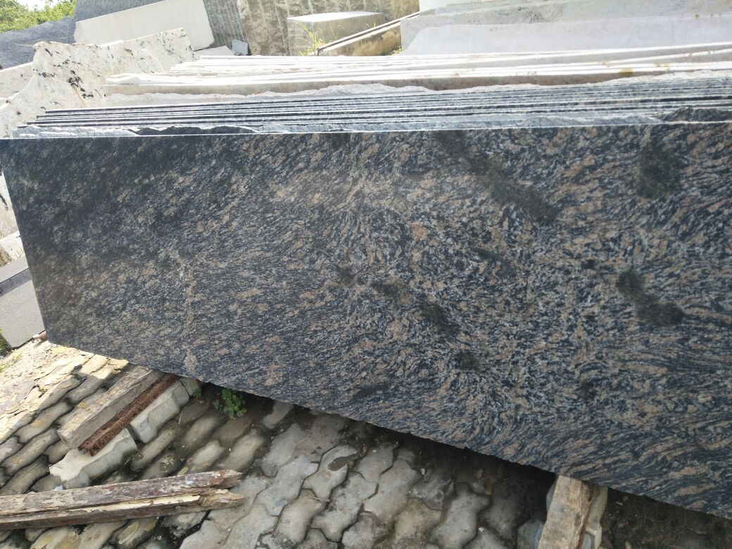 Classic Tan Brown Granite Slabs Granite Block Suppliers