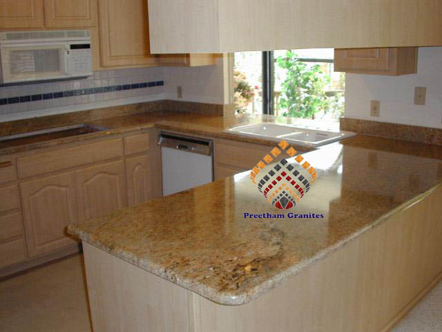 Kitchen Countertop Manufacturers : Granite Kitchen Countertops - Granite Block Suppliers, Madurai Granite ...