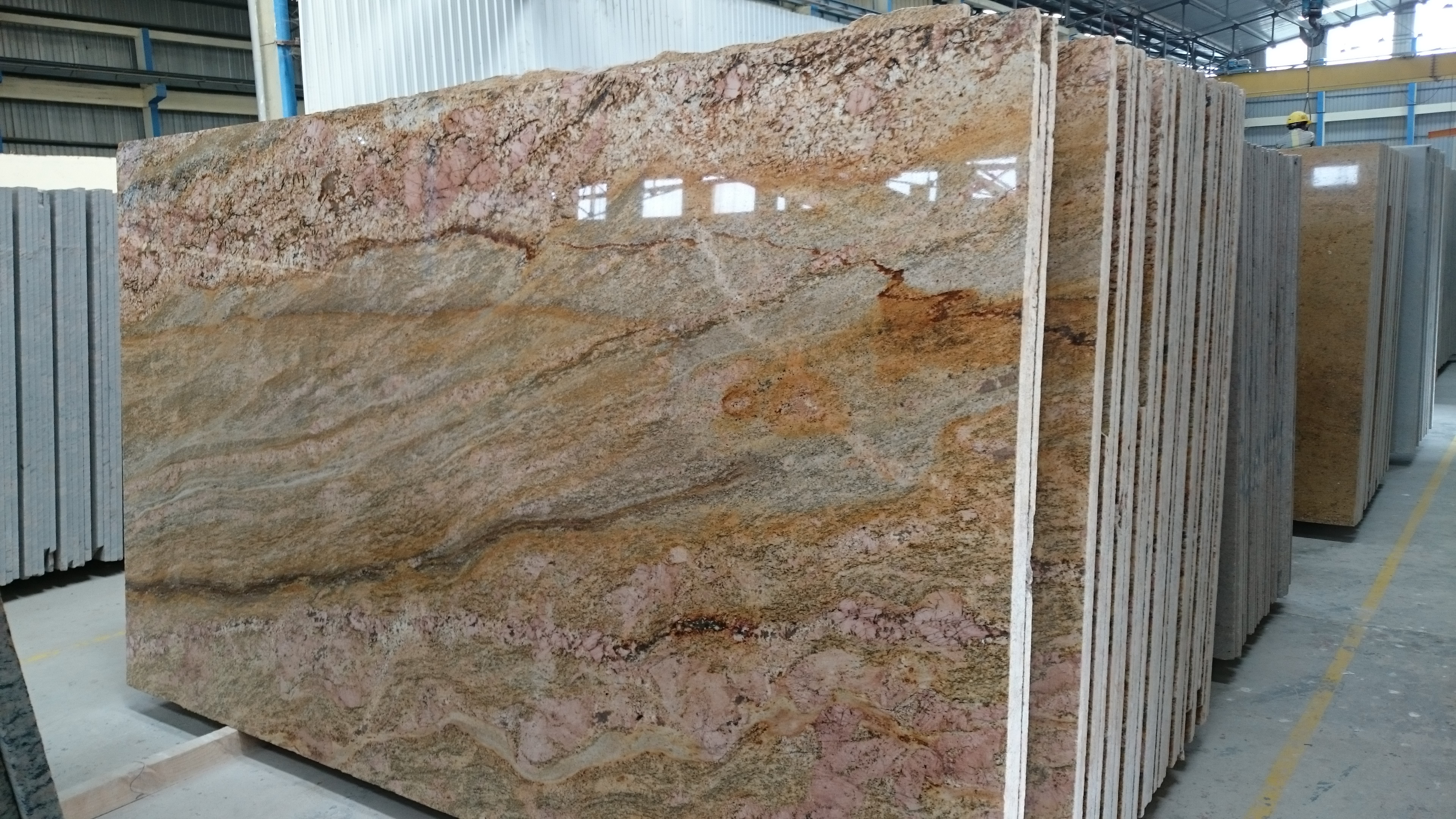Granite Counter Top Slabs : Imperial gold granite monuments slabs tiles and