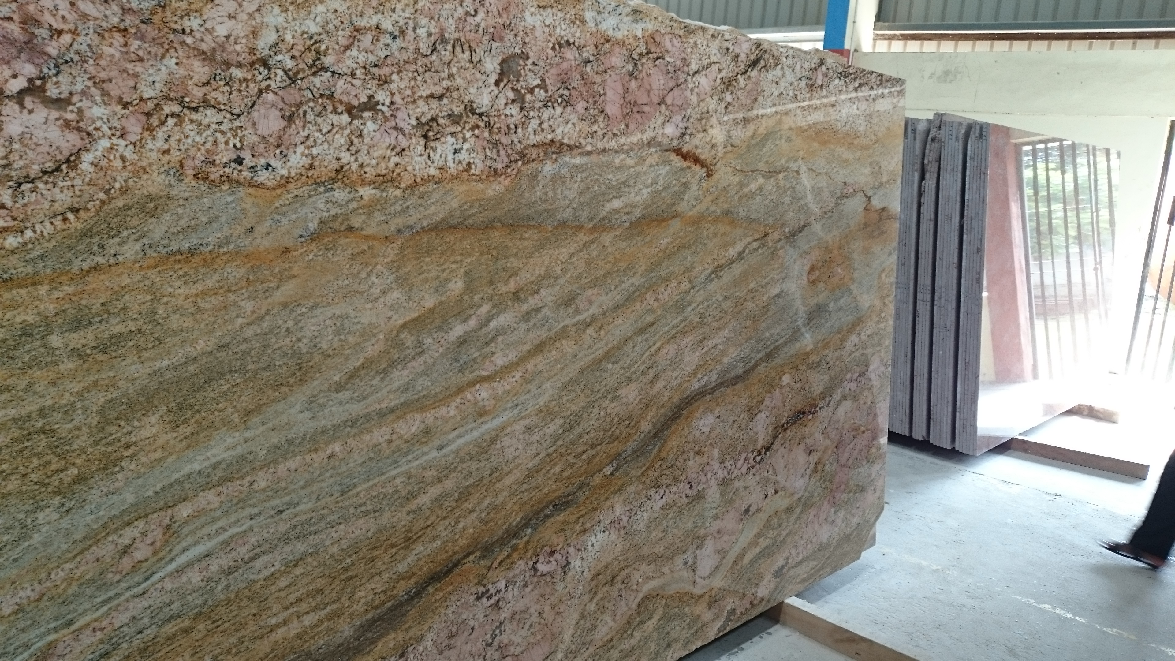 Imperial Gold Granite Monuments Slabs Tiles And