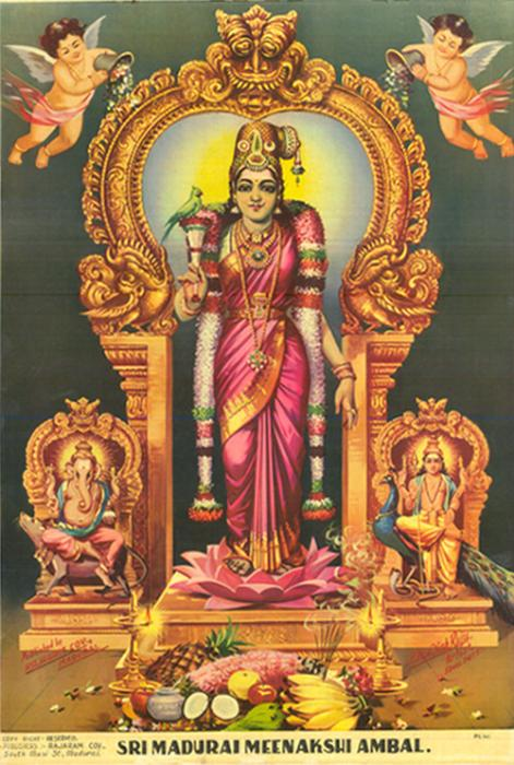 Ruling Deity Of Madurai The Great Meenakshi Amman