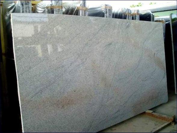 White Granite Slabs : Imperial white granite slabs