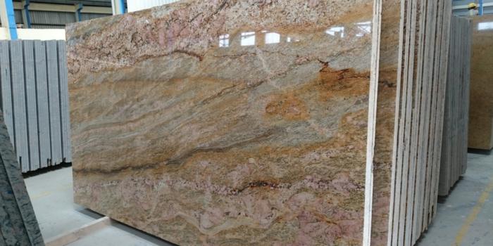 Romantic Pink Granite Slabs Granite Block Suppliers Madurai
